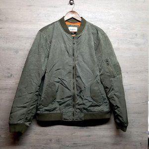 Goodfellow Olive Bomber Jacket. Brand New! Amazing